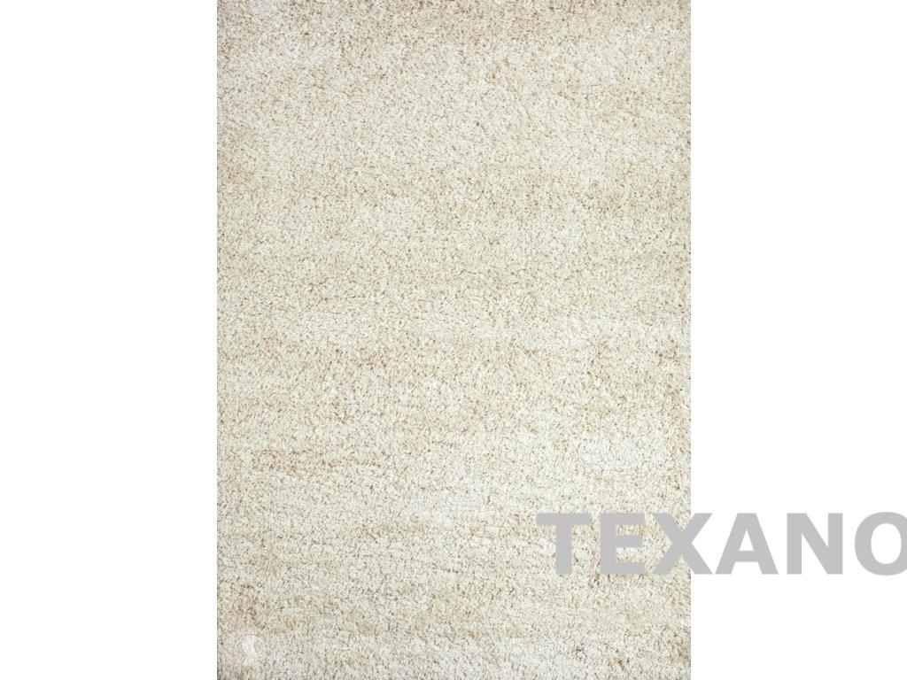 SHAGGY PLUS 903 světle béžový (Barva světle béžové, Typ kusové, Velikost 200 x 290)