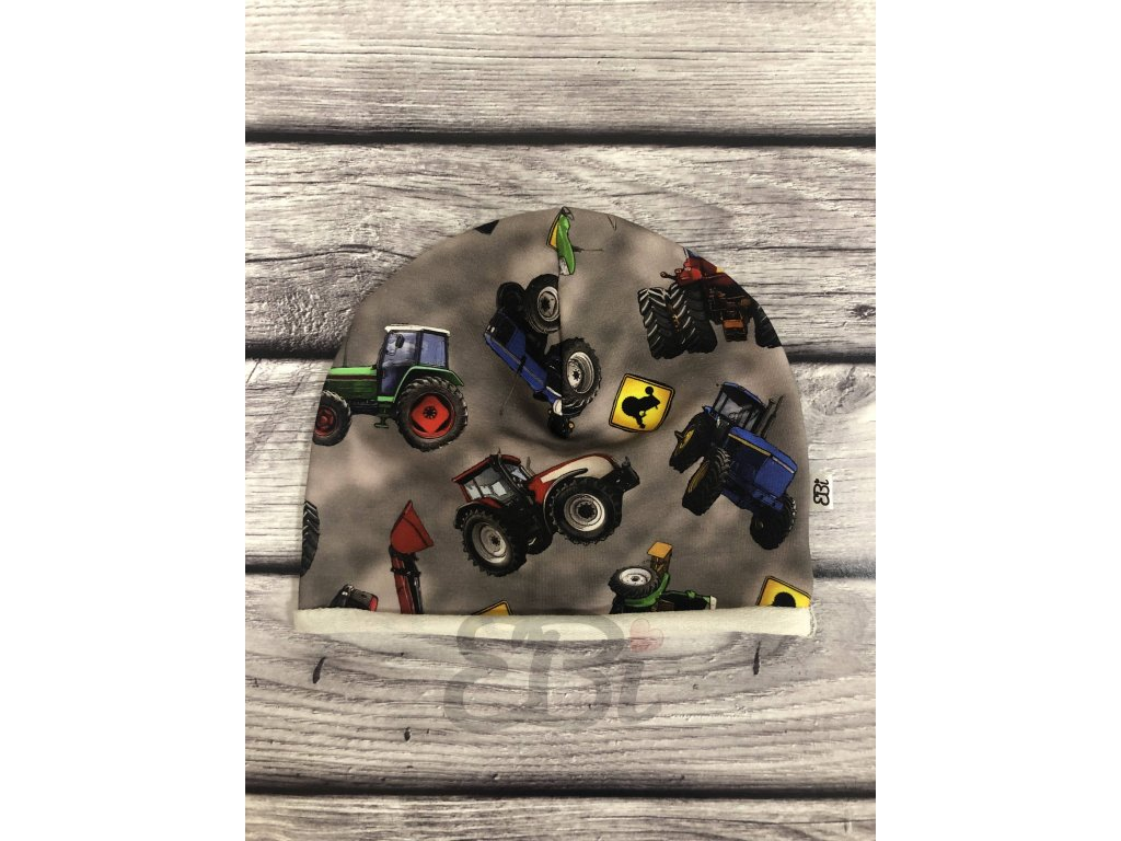 Čepice - Traktor