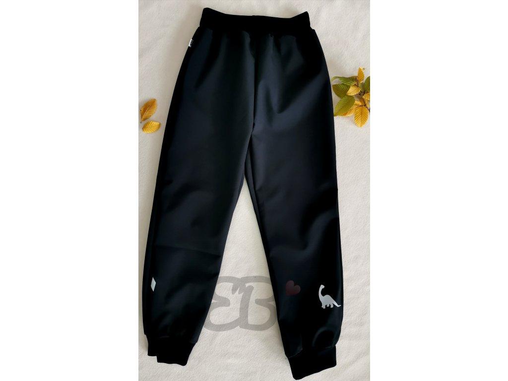 Softshellové kalhoty - černé, DINO