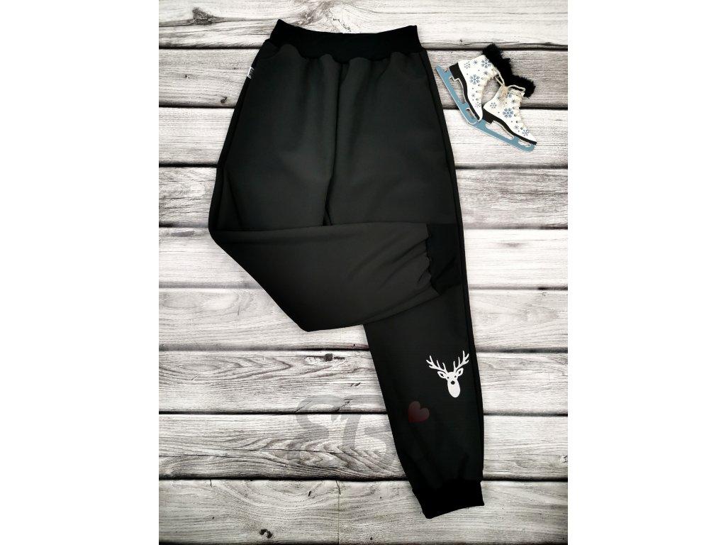 Zimní softshellové kalhoty - Sob