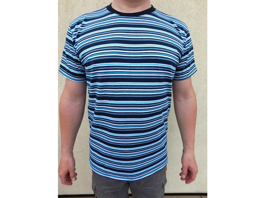 Pánské tyrkysové tričko