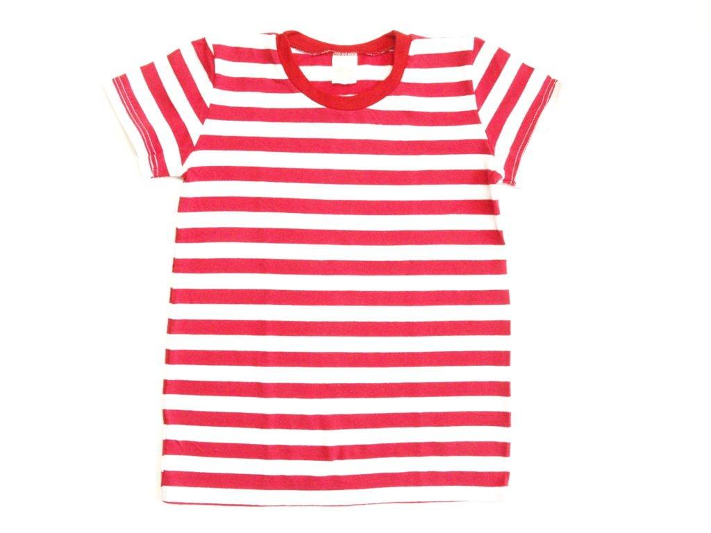 Dětské ČERVENÉ tričko krátký rukáv