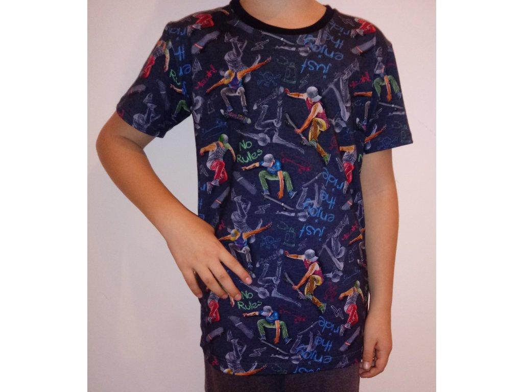 Dětské triko SKATE