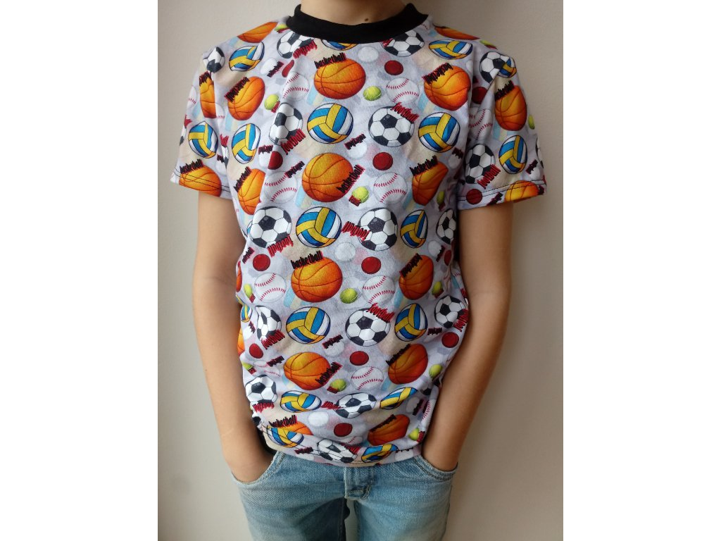 Dětské tričko míče
