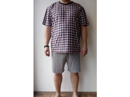 Pánské pyžamo kr.nohavice kr.rukáv