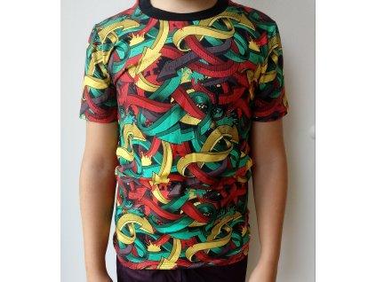 Chlapecké triko šipky