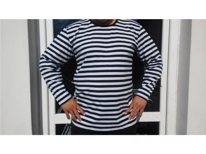 Pánské námořnické triko dlouhý rukáv