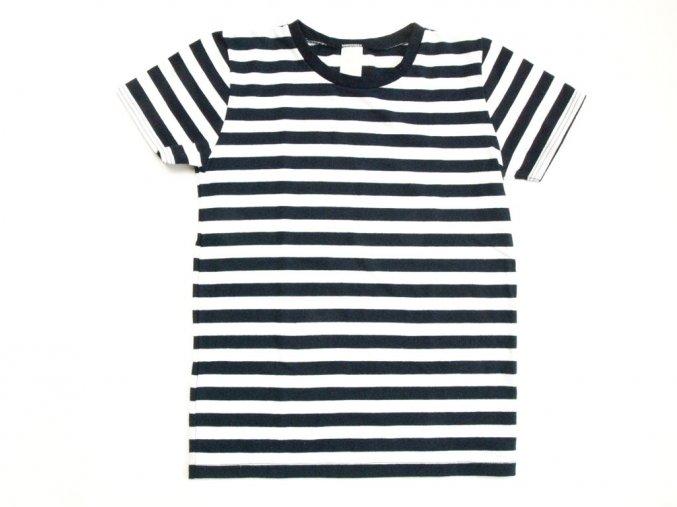 Dětské námořnické tričko krátký rukáv