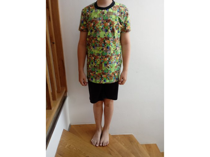 Dětské tričko kostičky