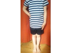 Dětské letní kraťasy tmavě modré