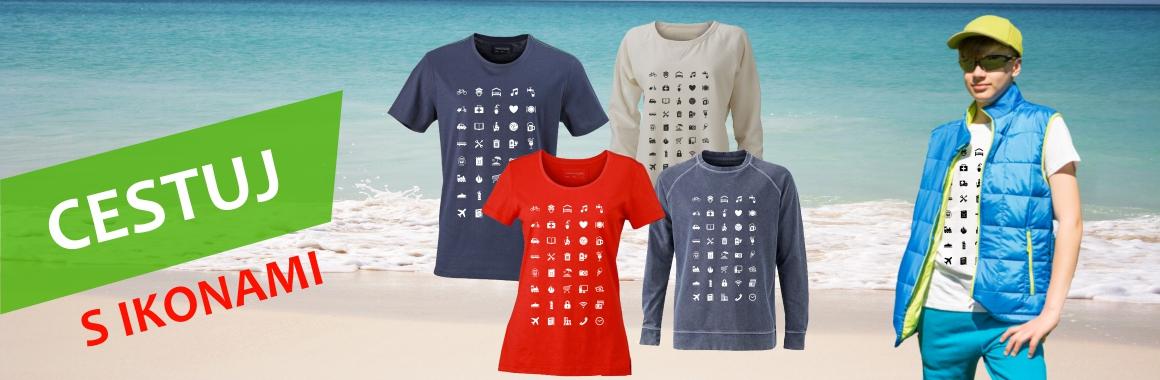 Tričko pro cestovatele, tričko s ikonami
