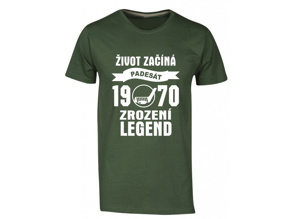 Zrozeni legend 50 let hokej zelena