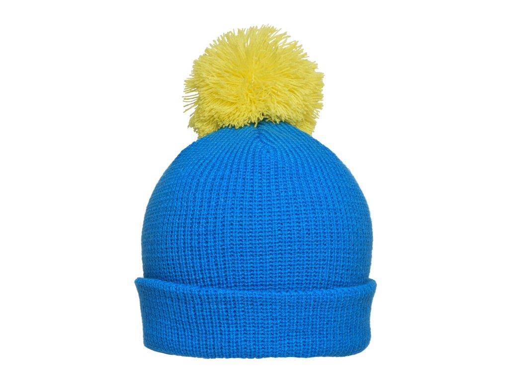 mb7967 pompon hat with brim blau unisex.39552 master
