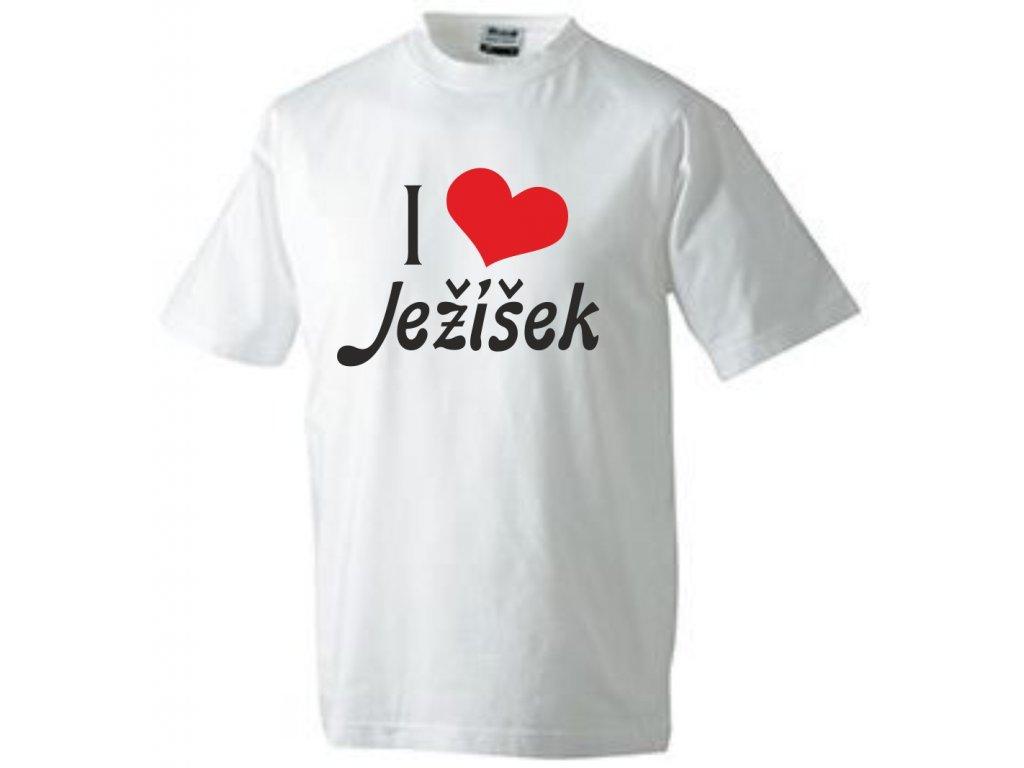 Tričko I love Ježíška (milujeme Ježíška)
