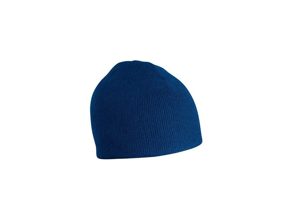 Zimní čepice bez okraje navy