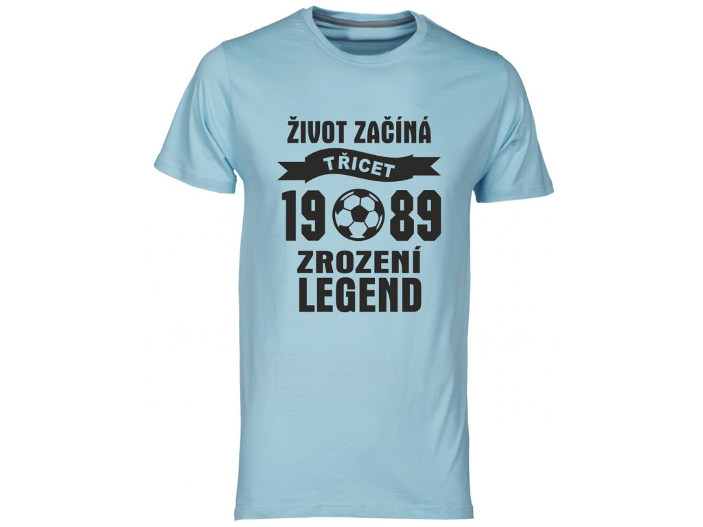 Zrozeni legend 30 let fotbal modrá svetla