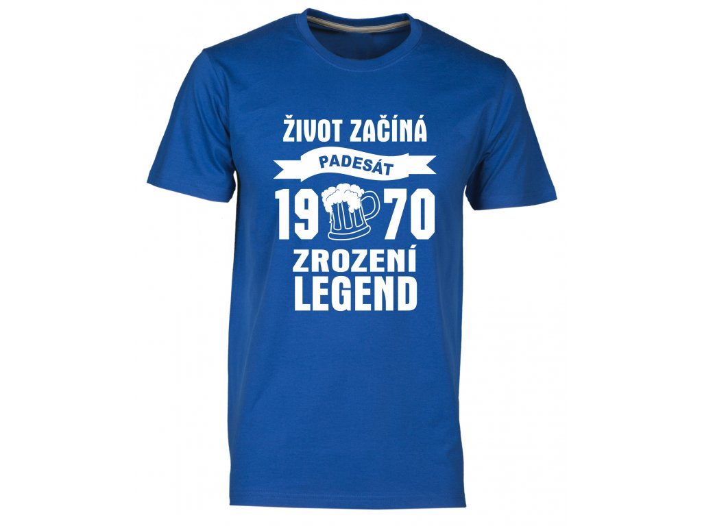 Zrozeni legend 50 let pivo royal