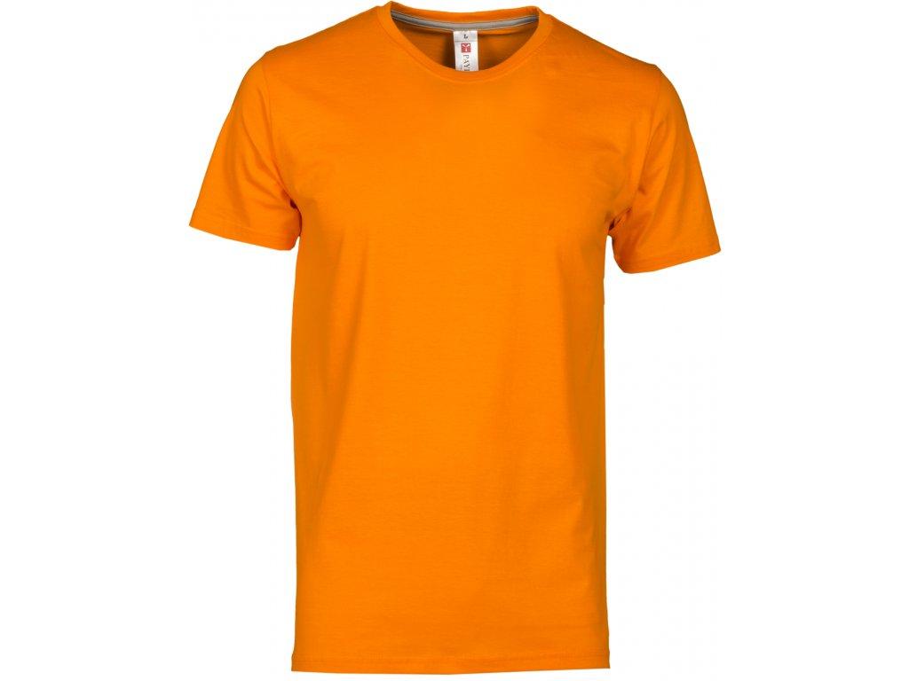 Pánské tričko vyšší gramáže oranžová