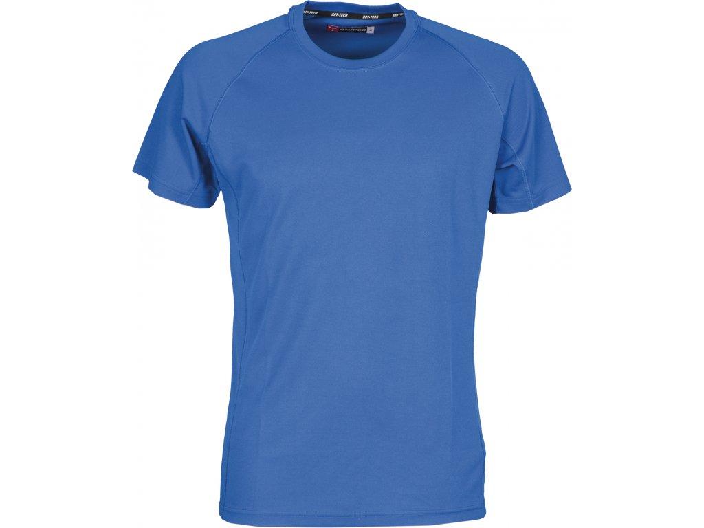 Funkční sportovní tričko s raglánovými rukávy. DRY-TECH royal