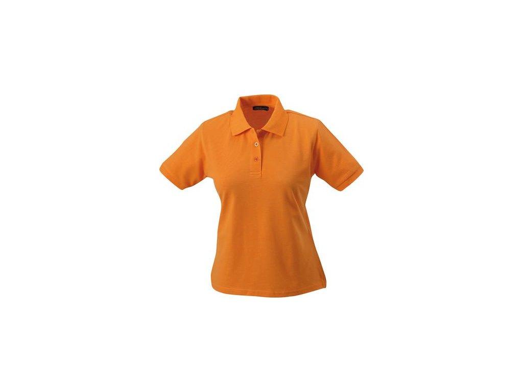 Dámská polokošDámská klasická polokošile z kvalitní tkaniny oranžová