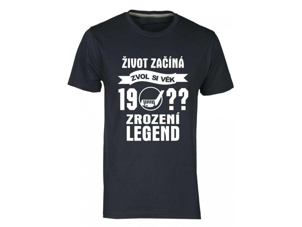 legenda zvol ročník navy hokej