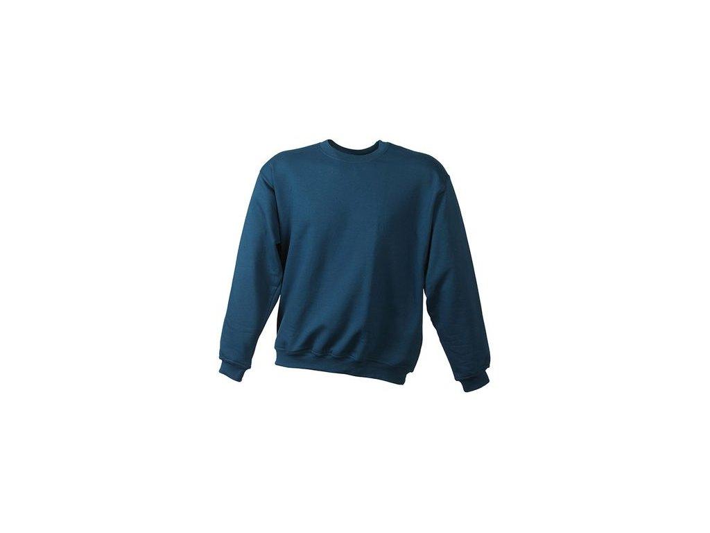 Mikina Round-Sweat Heavy (Barva Bílá, Velikost oděvů XXL)