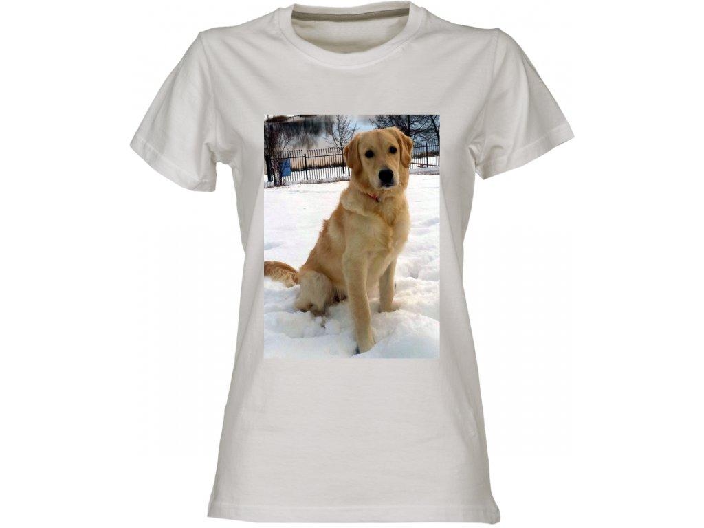 d32edf688b4 Dámské tričko s vlastním potiskem velikost A3