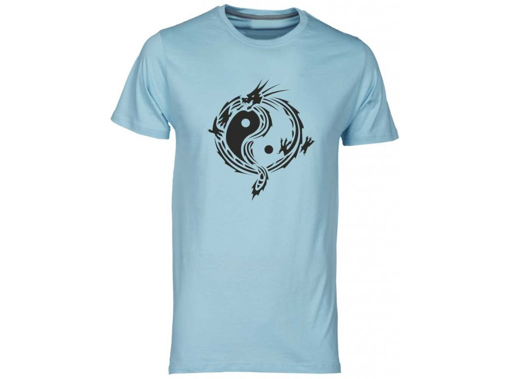 Pánské tričko Jin Jang drak 9a1f8c5b15