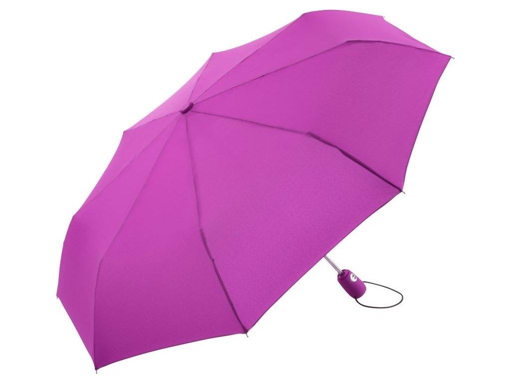 kvalitní deštník s automatickým otevíráním v mnoha barvách fialová