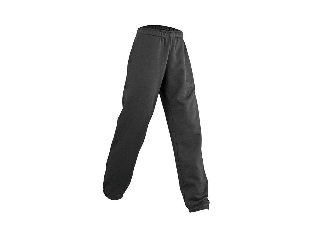 Pánské tepláky jogging kalhoty černé