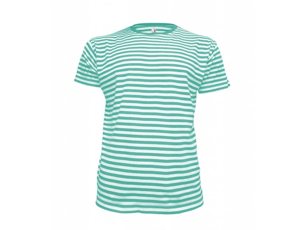 Dětské pruhované námořnické tričko Dirk AF195  bee7d125f3