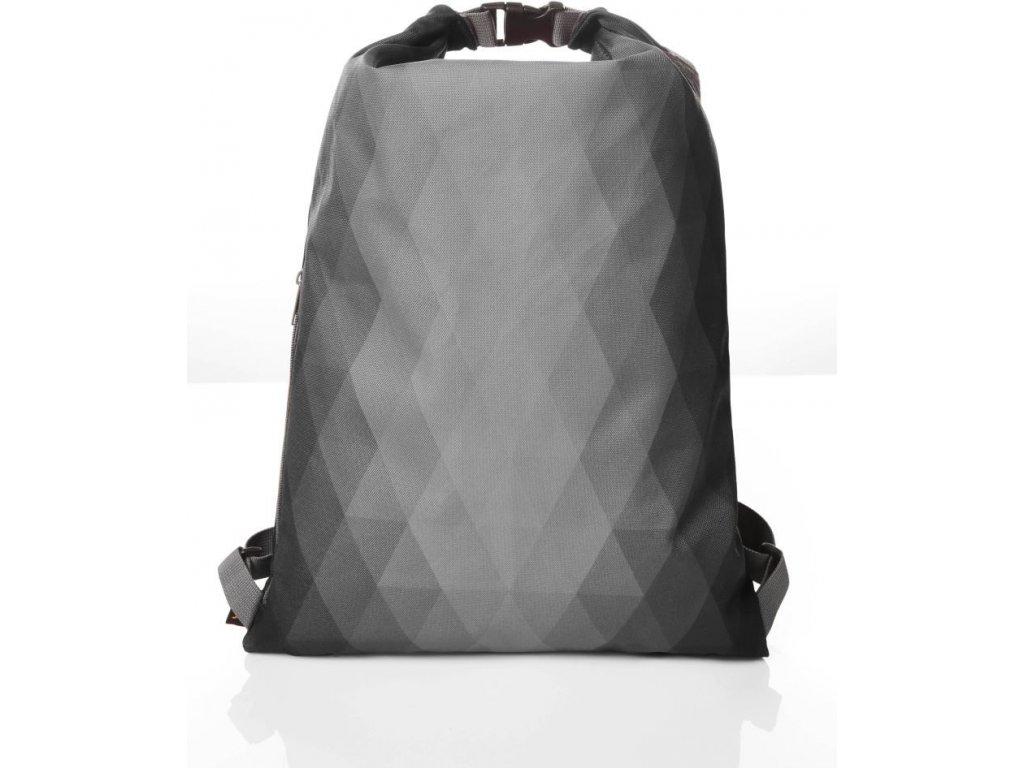 lehký inovativní stahovací batoh černý