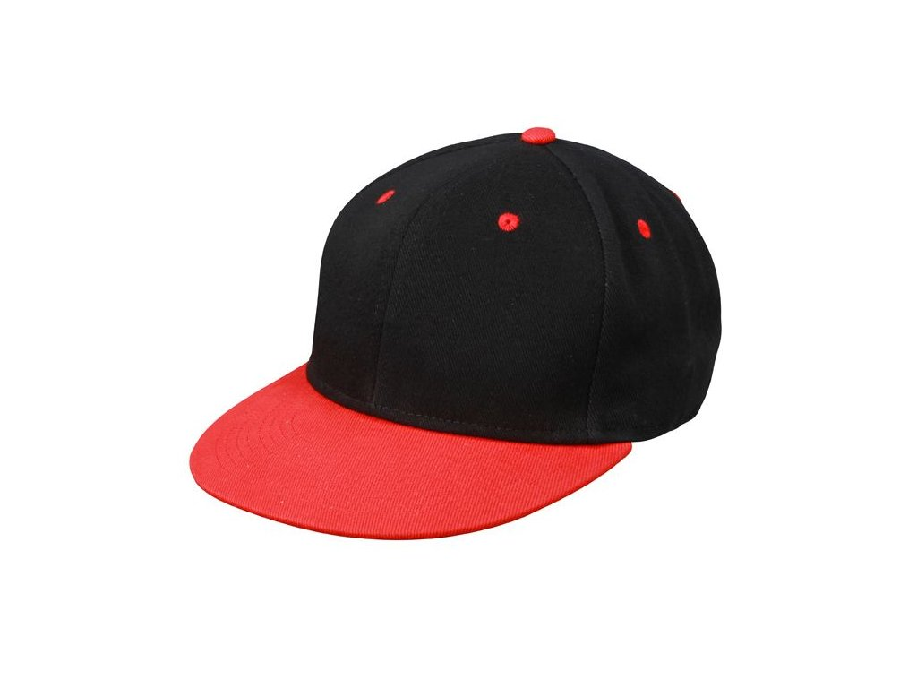 Kšiltovka s rovným kšiltem Snapback černá zelená · Kšiltovka s rovným  kšiltem Snapback černá červená ... cf6249cd44
