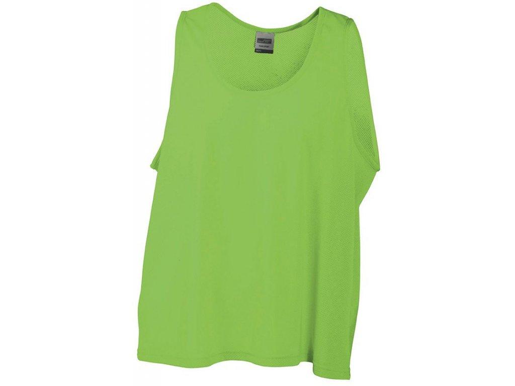 Týmové tričko (rozlišovák) Team Signal-T zelená