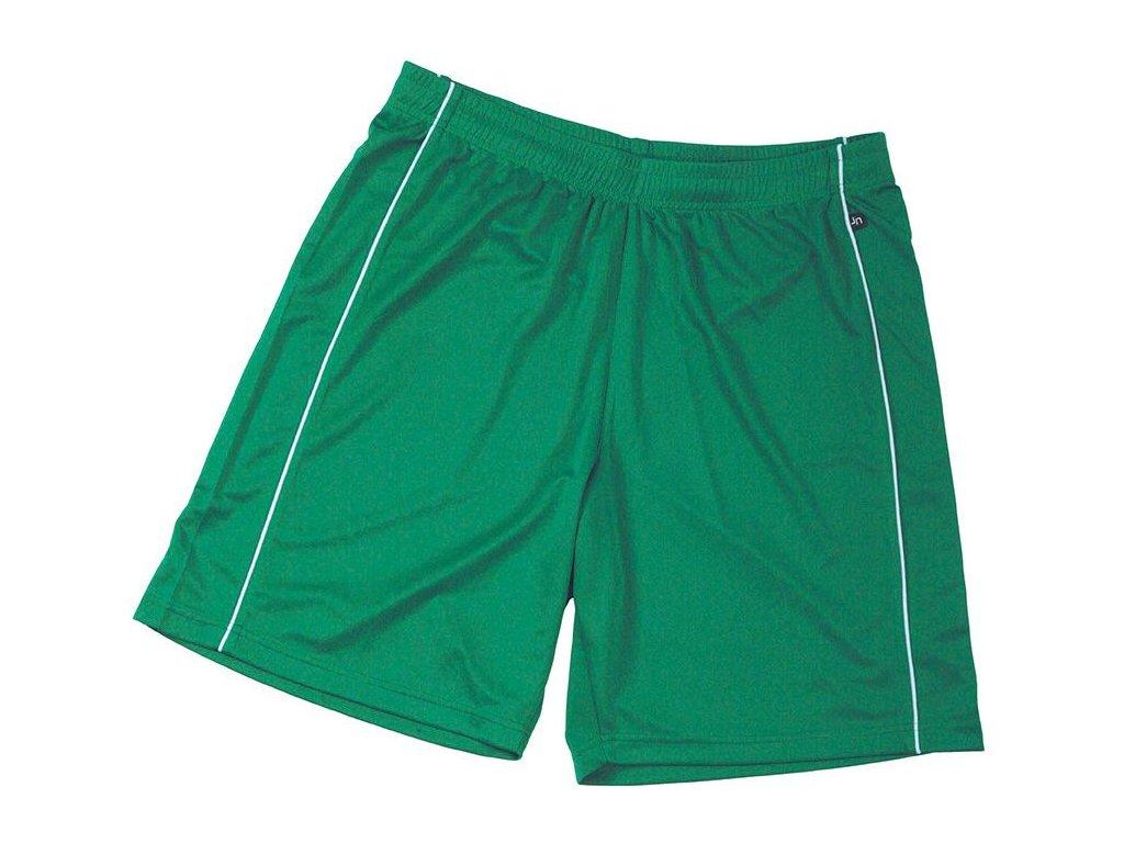 Pánské šortky Basic Team Shorts (Barva Bílá - černá, Velikost oděvů XXL)