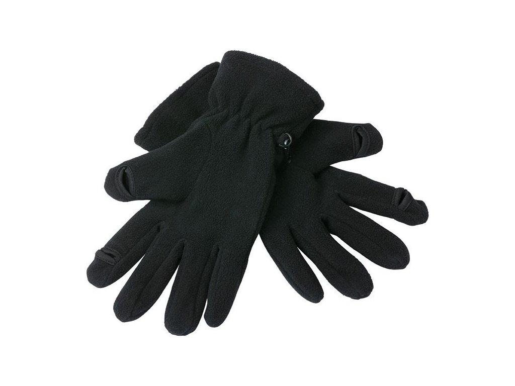 Funkční Micro Fleece rukavice černé