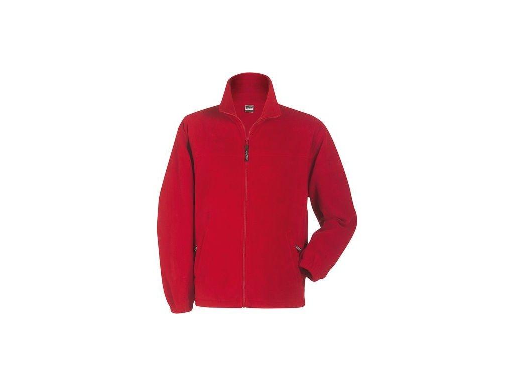 297dfefb677 ... Pánská mikina Full-Zip Fleece (Barva Bílá