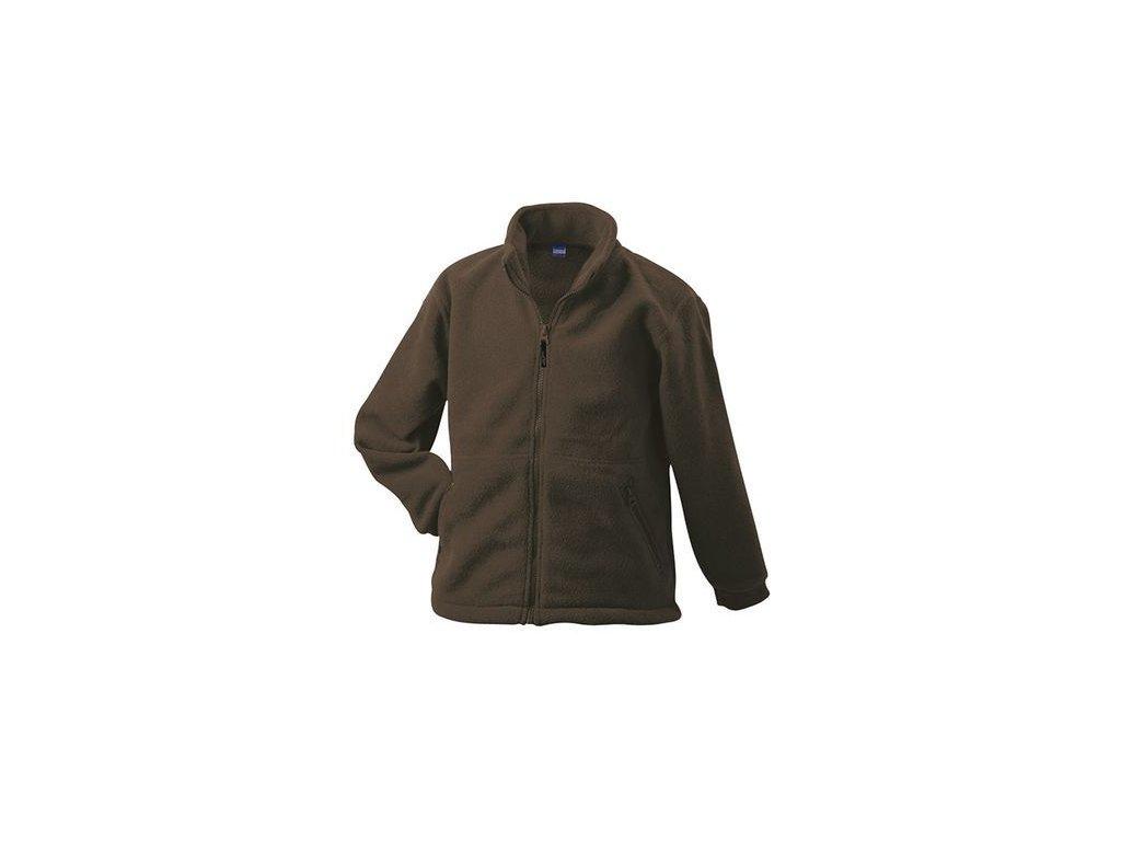 1a5596715c1 Pánská mikina Full-Zip Fleece (Barva Bílá