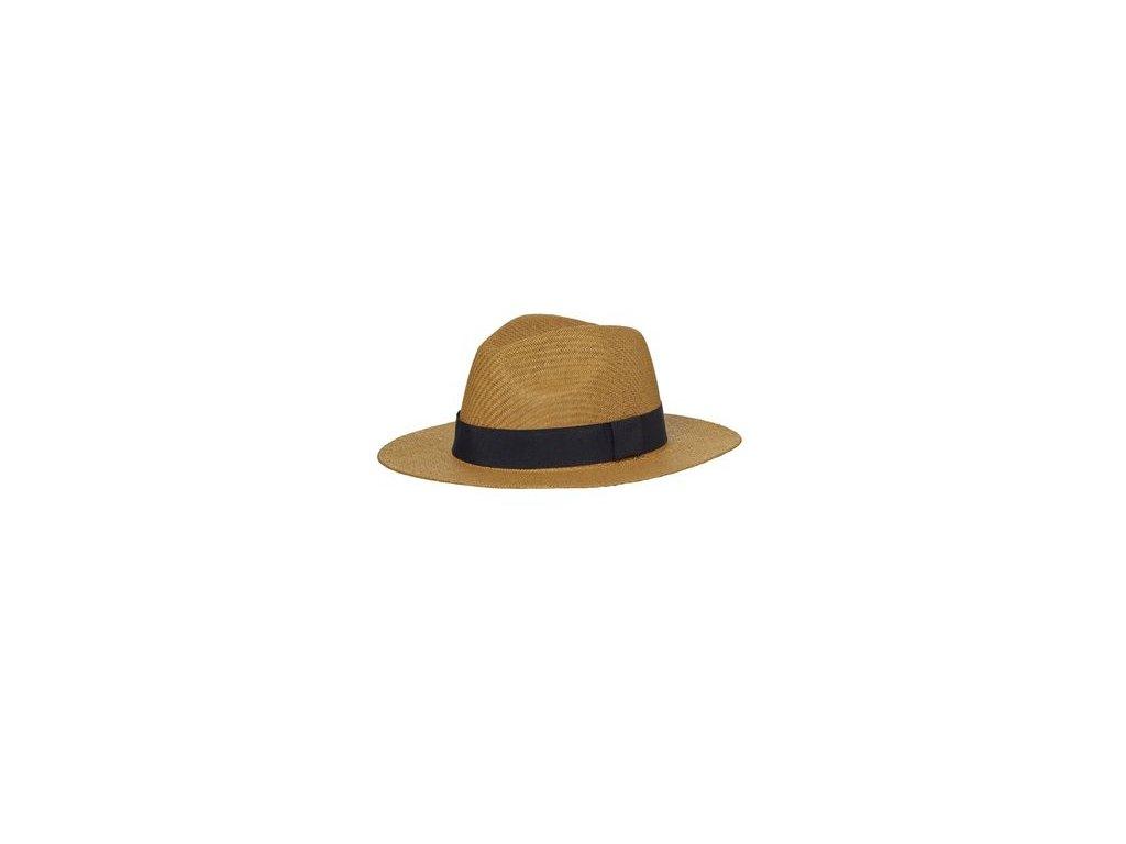 Stylový lehký letní klobouk nugát