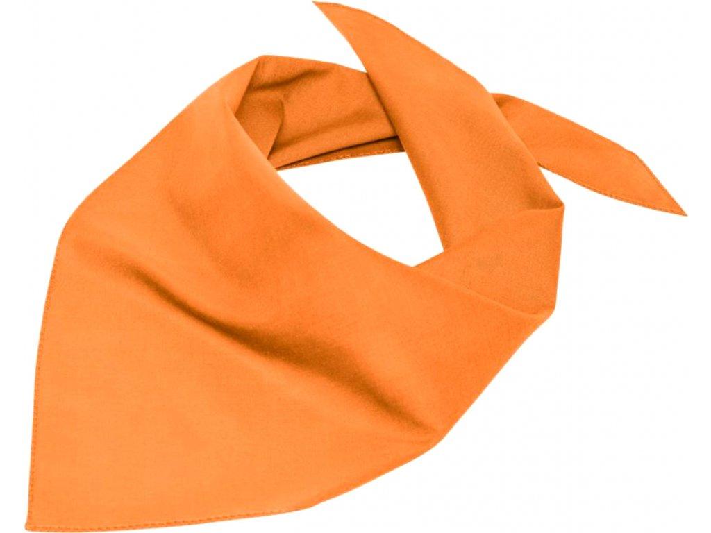 Multifunkční trojúhelníkový šátek zelená