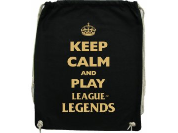 Vak KEEP CALM AND PLAY LEAGUE of LEGENDS