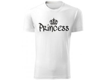 Dětské tričko PRINCESS bílá
