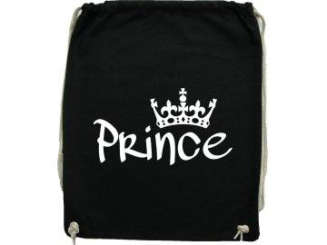 batoh prince černy