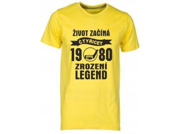 Zrozeni legend 40 let hokej zluta