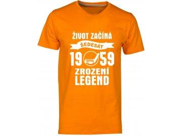 Zrozeni legend 60 let hokej oranzova