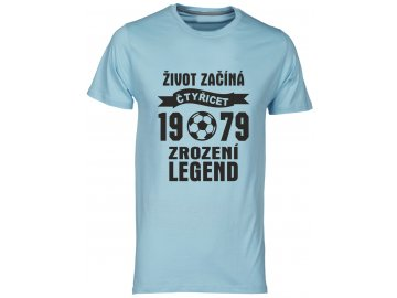 Zrozeni legend 40 let fotbal modrá svetla