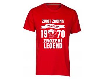 Zrozeni legend 50 let pivo cervena