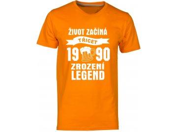 Zrozeni legend 30 let pivo oranzova