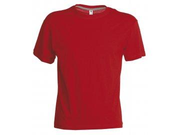 Dětské tričko Sunset červená