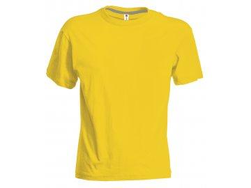 Dětské tričko Sunset žlutá